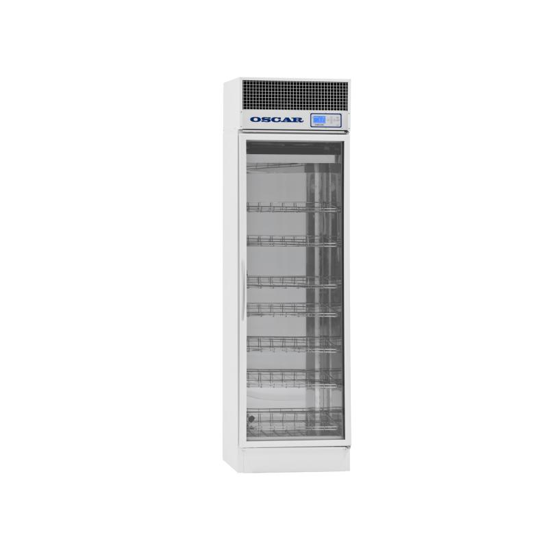 Refrigerated vaccine and medication cabinet MX-320, glass door, 320 litres
