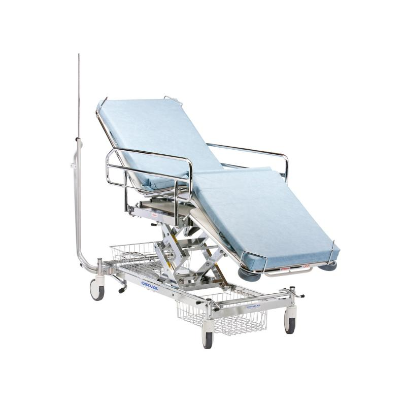 Emergency patient trolley 445