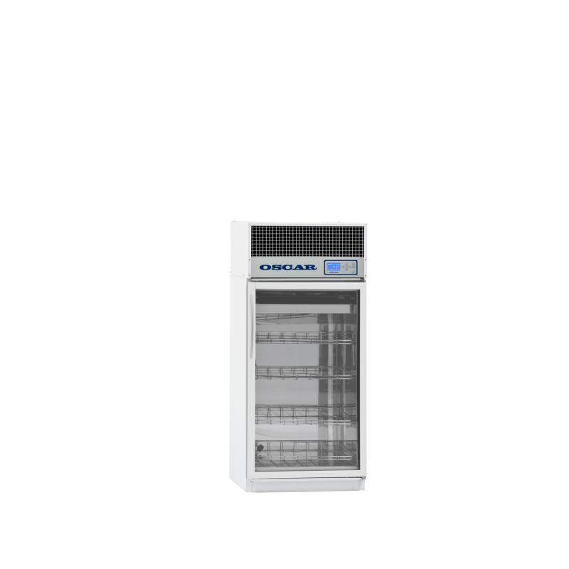 Refrigerated pharmacy cabinet AX-210, glass door, 210 litres