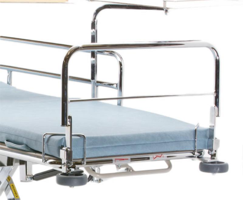 Footboard foldable