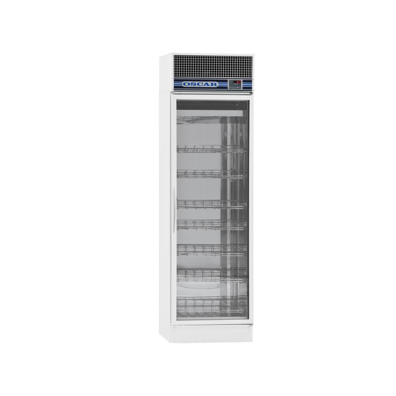 Apotekskylskåp VXT-400, glasdörr, 400 liter
